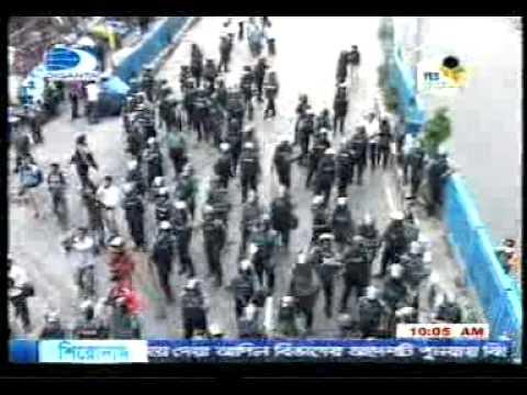 jamaat dhaka city press, Police attachek on Jamaat Leader