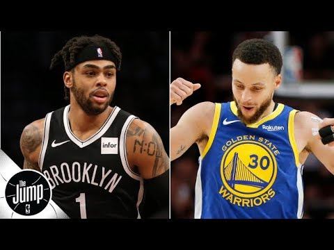 Video: The Warriors to shop D'Angelo Russell? 'They can't trade him!' - Marc J. Spears | The Jump