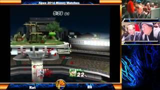 Apex 2014 High Level Money Match: Rat (Wolf) vs Eli (Luigi)