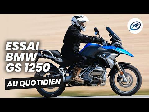 Essai BMW GS 1250 au quotidien (2020)
