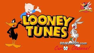 This newly restored classic Looney Tunes compilation features some of the best-known classics from the golden era of the Looney Tunes Collection.  00:15 LOONEY TUNES (Looney Toons): Daffy Duck And The Dinosaur (Daffy Duck)08:00 LOONEY TUNES (Looney Toons): The Wabbit Who Came To Supper (Bugs Bunny)16:06 LOONEY TUNES (Looney Toons): Foney Fables24:14 LOONEY TUNES (Looney Toons): Daffy - The Commando (Daffy Duck)31:36 LOONEY TUNES (Looney Toons): Yankee Doodle Daffy (Porky Pig & Daffy Duck)38:18 LOONEY TUNES (Looney Toons): Prest O Change O45:17 LOONEY TUNES (Looney Toons): To Duck or Not To Duck (Daffy Duck)51:53 LOONEY TUNES (Looney Toons): The Fifth-Column Mouse59:21 LOONEY TUNES (Looney Toons): Falling Hare (Bugs Bunny)01:07:50 LOONEY TUNES (Looney Toons): The Ducktators01:15:32 LOONEY TUNES (Looney Toons): The Dover Boys01:24:26 LOONEY TUNES (Looney Toons): Pigs In A Polka01:32:17 LOONEY TUNES (Looney Toons): porky's pigs feat01:40:55 LOONEY TUNES (Looney Toons): Farm Frolics01:48:12 LOONEY TUNES (Looney Toons): Confusions of a Nutzy Spy (Porky Pig)  01:55:46 LOONEY TUNES (Looney Toons): Rookie Revue02:03:25 LOONEY TUNES (Looney Toons): Wackiki Wabbit (Bugs Bunny)02:10:06 LOONEY TUNES (Looney Toons): Tale Of Two Kitties02:16:41 LOONEY TUNES (Looney Toons): Have You Got Any Castles?02:24:05 LOONEY TUNES (Looney Toons): Fresh Hare (Bugs Bunny)02:31:36 LOONEY TUNES (Looney Toons): All This And Rabbit Stew (Bugs Bunny)02:38:19 LOONEY TUNES (Looney Toons): Case Of The Missing Hare (Bugs Bunny)02:46:31 LOONEY TUNES (Looney Toons): Daffy's Southern Exposure (Daffy Duck) 02:54:03 LOONEY TUNES (Looney Toons): A Day At The Zoo03:01:05 LOONEY TUNES (Looney Toons): Congo Jazz (Bosko)03:07:22 LOONEY TUNES (Looney Toons): Bosko The Doughboy (Bosko)03:14:19 LOONEY TUNES (Looney Toons): Hamateur Night03:21:59 LOONEY TUNES (Looney Toons): Jungle Jitters  03:28:57 LOONEY TUNES (Looney Toons): Early Worm Gets The Bird03:37:29 LOONEY TUNES (Looney Toons): Ding Dog Daddy03:45:43 LOON