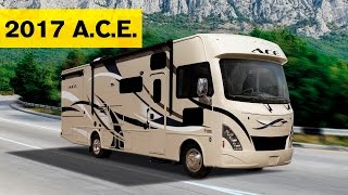 2017 ace motorhomes class a class c hybrid rv by thor for Thor motor coach ace reviews