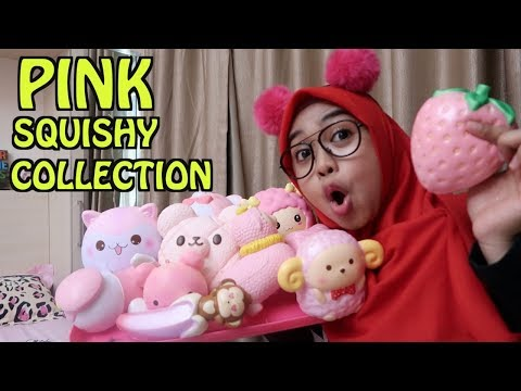PINK SQUISHY COLLECTION. awesome!!!!