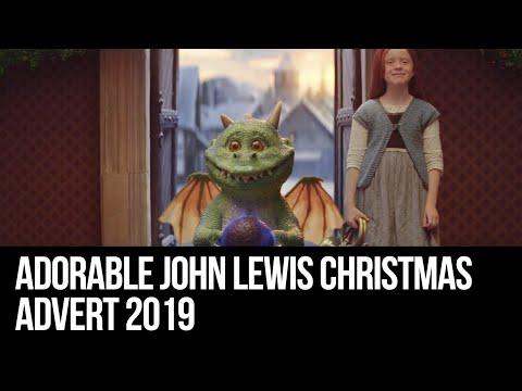 The heartwarming John Lewis Christmas advert, featuring an adorable dragon called Excitable Edgar.