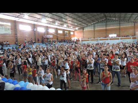 Flash-Mob Oficial - Sexta Romaria Vocacional - Diamante D'Oeste - 19/10/2014