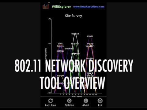 Video of Wifi Scanner & Net Discovery