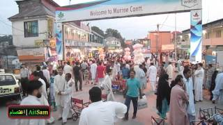 Murree Pakistan  City new picture : Mall Road, Murree, Pakistan, Summer Vacations Evening Walk