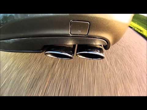 Mercedes Benz CLS 55 AMG '06 stock exhaust sound