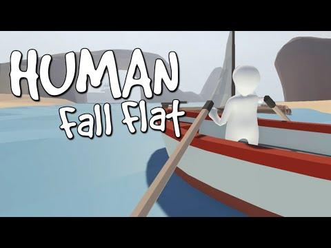 Human: Fall Flat - ПРИКОЛ С ЛОДКОЙ (видео)