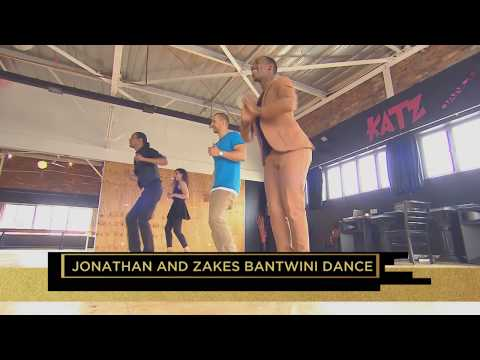 Zakes Bantwini and Jonathan have a dance off on #TopBilling