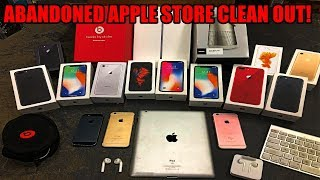 Video ABANDONED APPLE STORE CLEAN OUT!! Found free iPhones, iPads, AirPods, and more Apple products!!! MP3, 3GP, MP4, WEBM, AVI, FLV Juli 2019