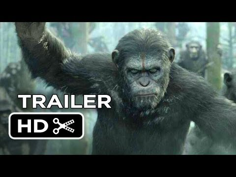 Dawn Of The Planet Of The Apes Official Trailer #1 (2014) – Gary Oldman Movie HD