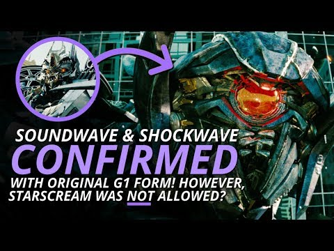 Transformers: Soundwave & Shockwave CONFIRMED For Bumblebee The Movie! 😵