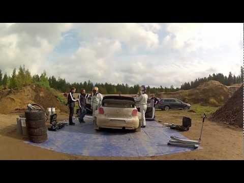 Polo WRC - testy w Finlandii