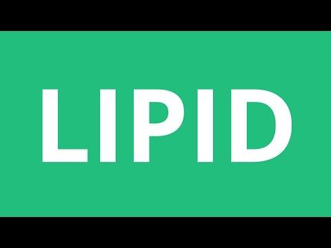 How To Pronounce Lipid - Pronunciation Academy