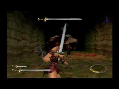 "Xena The Warrior Princess - Part 8: "" The Labyrinth + Minotaur Boss Fight """