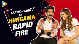 Video Kartik-Sara at their FUNNIEST- Try Not To Laugh | Rapid Fire | Saif Ali Khan | Taimur | Love Aaj Kal download in MP3, 3GP, MP4, WEBM, AVI, FLV January 2017