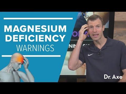 Magnesium Deficiency: 8 Warning Signs (видео)