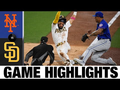 Mets vs Padres Game Highlights (6/3/21)