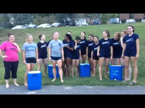 Volleyball takes the ALS Ice Bucket Challenge
