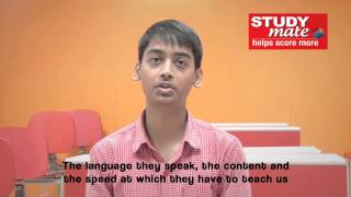 Student Speak – Akhilesh Kumar