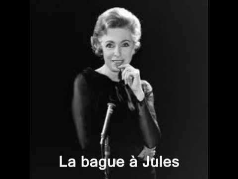 Tekst piosenki Patachou - La Bague à Jules po polsku