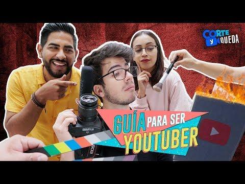 Download Video Guía para ser YouTuber | CORTE Y QUEDA