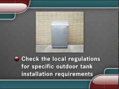 NORA Video 9, How to Install Polyethylene Steel Aboveground Tanks
