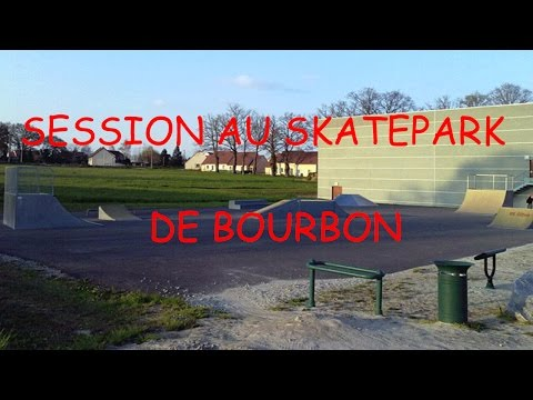 Session skatepark de Bourbon