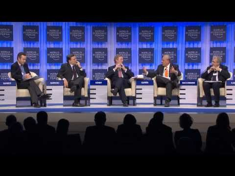 Davos - http://www.weforum.org/ How are Europe's leaders transitioning from crisis response to crafting a long-term strategy for competitiveness? José Manuel Barroso...