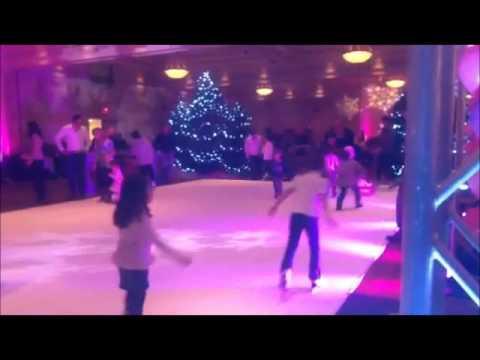 Children's Party indoor ice rink rental