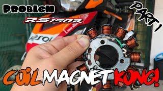 Video Vlog #7 : Coil Magnet Honda RS150R kong   Honda RS150R ditunde Yamaha Y15ZR MP3, 3GP, MP4, WEBM, AVI, FLV Oktober 2018