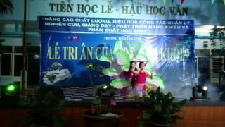 Múa Dân Gian Lý Cây Bông - THCS Colette