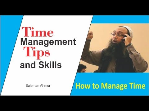 Time Management Tips and Skills By Suleman Ahmer - Day1 Part-1
