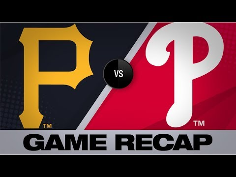 Video: Frazier scores winning run on error in 9th | Pirates-Phillies Game Highlights 8/27/19