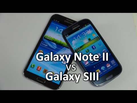 Samsung Galaxy Note 2 vs Galaxy S3 | SwagTab