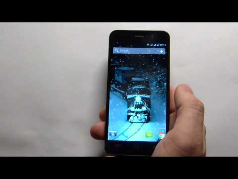 Video of Lovely Snowfall Live Wallpaper