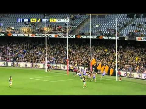 AFL 2011 &#8211; Round 5 &#8211; North Melbourne vs. Richmond &#8211; Game Highlights