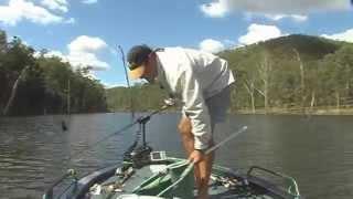 Imbil Australia  city pictures gallery : Fishing Borumba Dam. Imbil, Queensland, Australia.