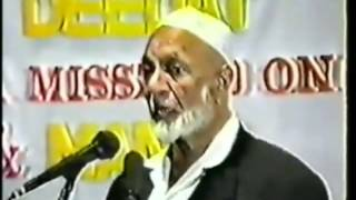 man & God - by Ahmed Deedat