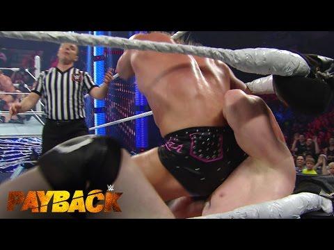 WWE Network: Dolph Ziggler Forces Sheamus To Kiss His Bottom: WWE Payback 2015