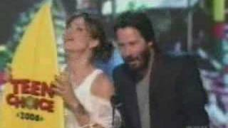 Sandy and Keanu - Choice Liplock