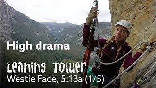 I took my novice-climber girlfriend up a Big Wall 😂  - Leaning Tower Free Ep1/5 by Nate Murphy