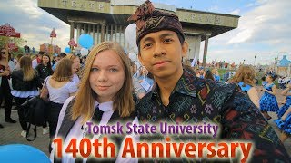 Video Pakaian adat Bali di Rusia - 140th Anniversary | Tomsk State University MP3, 3GP, MP4, WEBM, AVI, FLV Januari 2019