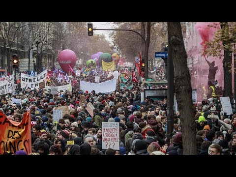 Μαζική απεργία στη Γαλλία