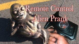 Prank Bros - Remote Control Alien Prank