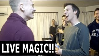 Performed some awesome magic for an ex magician, good friend of mine at his birthday party. Reaction video to this coming soon ;) Follow me on IG: https://www.instagram.com/eduardtodorFollow me on FB: https://www.facebook.com/EduardTodorMagicFollow me on Twitter: https://twitter.com/EduardTodorSong link: https://www.youtube.com/watch?v=538xTelRFZg