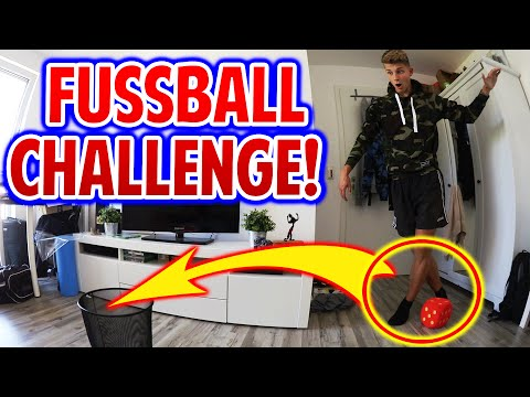 EXTREME INDOOR FUßBALL CHALLENGES vs. BRUDER! (DEUTSCH) - FIFAGAMING