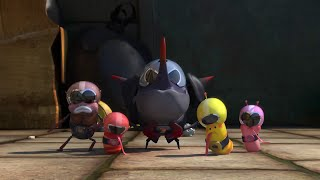 Funny Larva Seasons 2016 : Larva Ranger, Larva Become a Power Ranger HD, phim larva, xem phim larva, larva, au trung tinh nghich