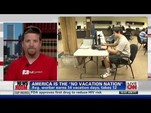 CEO offers bonus to take vacation